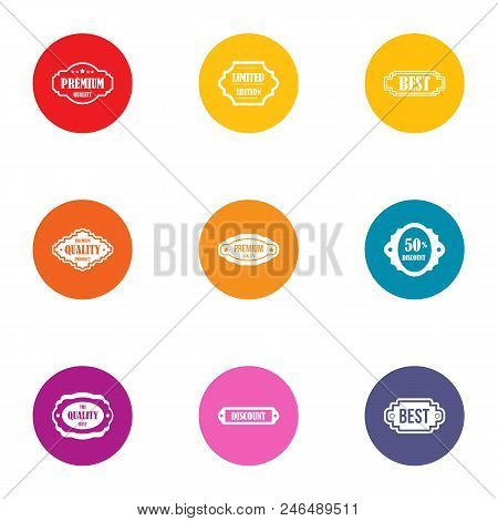 Best Buy Icons Set. Flat Set Of 9 Best Buy Vector Icons For Web Isolated On White Background
