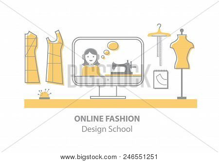 Online Fashion Design Vector & Photo (Free Trial) | Bigstock