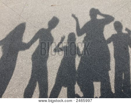 A Shadow Family Of Fun