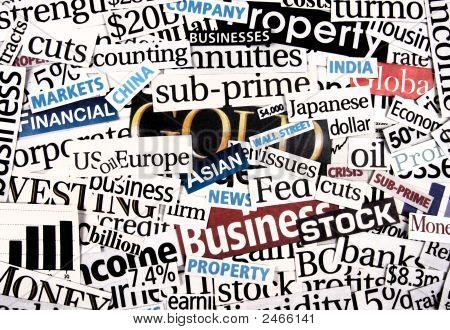 Financial Newspaper Cuttings