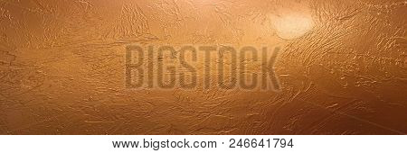 Gold Background Or Texture And Gradients Shadow. Shiny Yellow Leaf Gold Foil Texture Background. Gol
