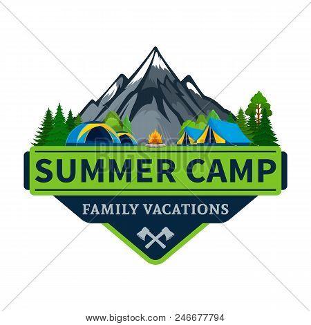 Vector Summer Camp Logo