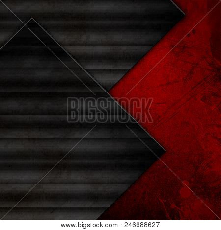 Abstract background with grunge and metal textures