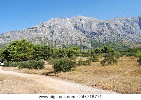 Ridge Biokovo Of The Makarska Riviera, Croatia
