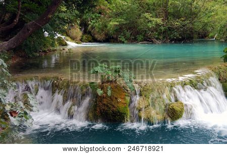 View Of The Plitvice Lakes - Showplace Of The Croatia