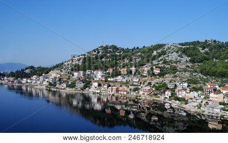 View Of The Ploce City, Croatia, Dolmatia
