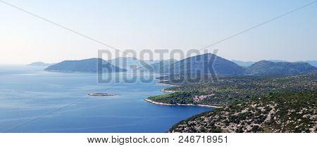 Southern Dalmatia, Croatia. View Of The Coast