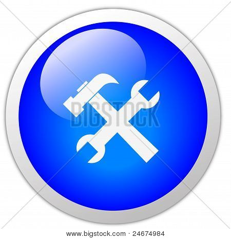 Tools Icon Button