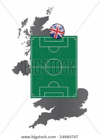 Soccer field United Kingdom