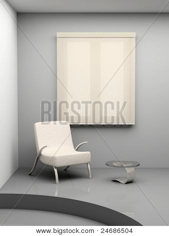 Armchair And A Table