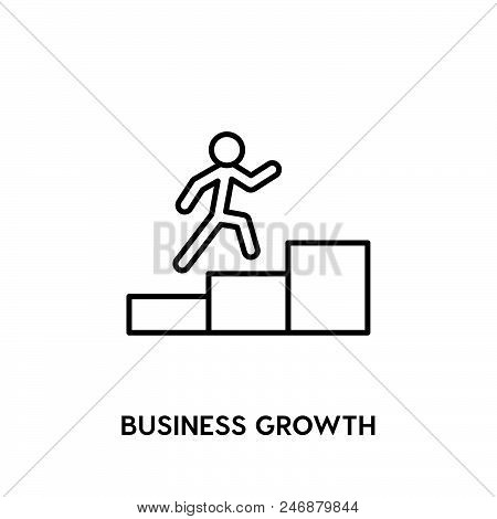 Business Growth Vector Icon.  Business Growth Vector Icon.  Business Growth Vector Icon.  Business G