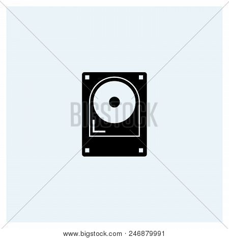 Hard Drive Icon Vector Icon On White Background. Hard Drive Icon Modern Icon For Graphic And Web Des
