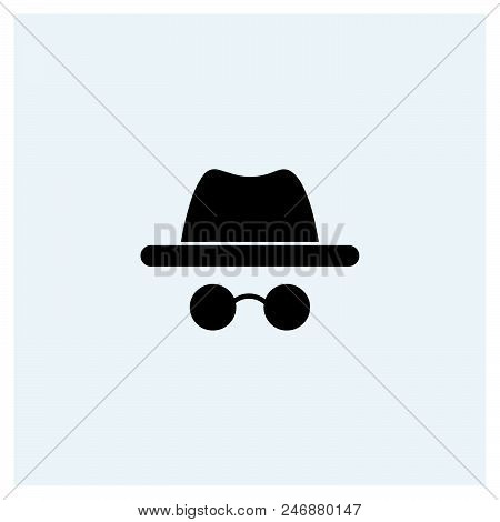 Detective Icon Vector Icon On White Background. Detective Icon Modern Icon For Graphic And Web Desig