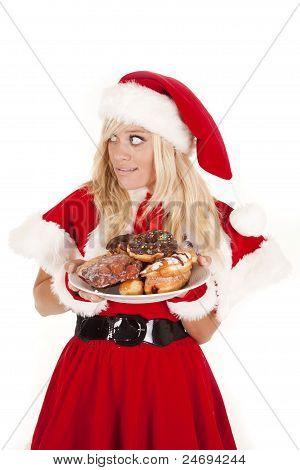 Mrs Santa Donuts Don't Get Caught