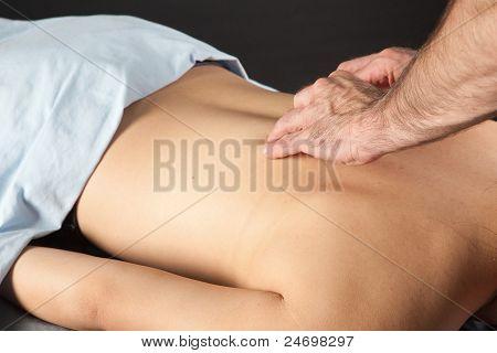 Massage Close Up