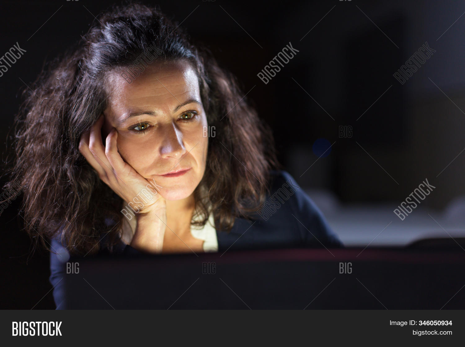 Tired Businesswoman Image Photo Free Trial Bigstock