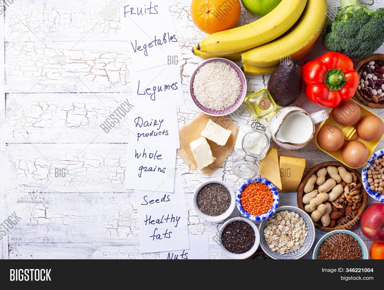 Ovo Lacto Vegetarian Image Photo Free Trial Bigstock