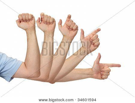 Pointing Finger Pistol