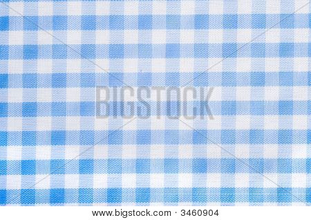 Light Blue Gingham Background