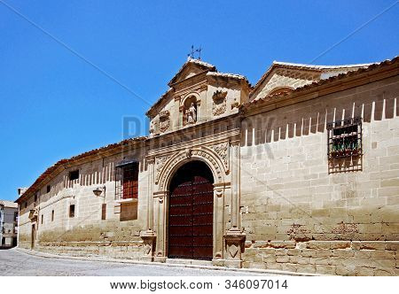 View Of The Santa Clara Convent In The Old Town, Ubeda, Jaen Province, Andalusia, Spain.