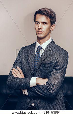 Portrait Of A Confident Young Business Man