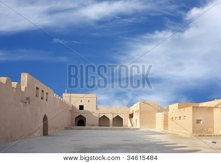 Inside view southern portion of Riffa fort Bahrain