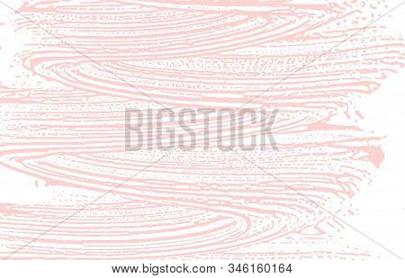 Grunge Texture. Distress Pink Rough Trace. Fine Background. Noise Dirty Grunge Texture. Dazzling Art