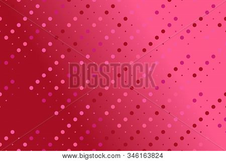 Gradient Dot Pattern Background - Colorful Abstract Geometric Vector Graphic Design With Dots