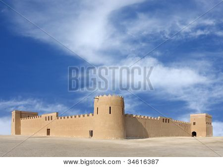 A beautiful view of Riffa Fort Bahrain from East