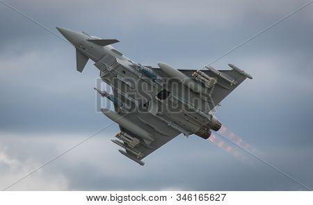 Hampshire, Uk - July, 2016: The Eurofighter