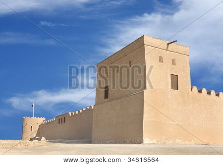 Southern tower of Riffa Fort Bahrain