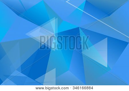 Gradient Geometrical Triangle Web Page Background - Geometric Abstract Vector Design From Triangles
