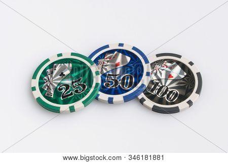 Gambling Poker, Closeup