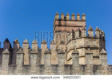 Tower Of The San Marcos Castle In El Puerto De Santa Maria, Spain