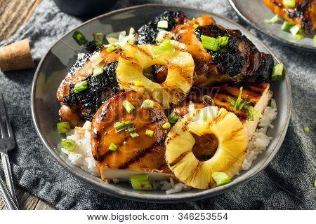 Homemade Hawaiian Huli Chicken