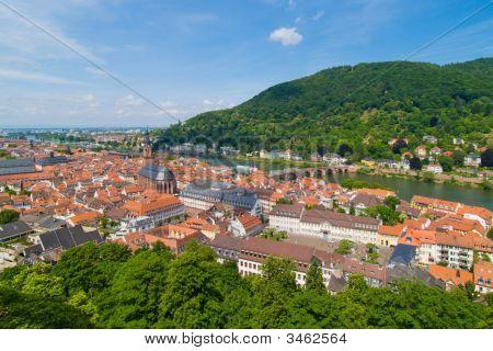 Historical Center Of Heidelberg