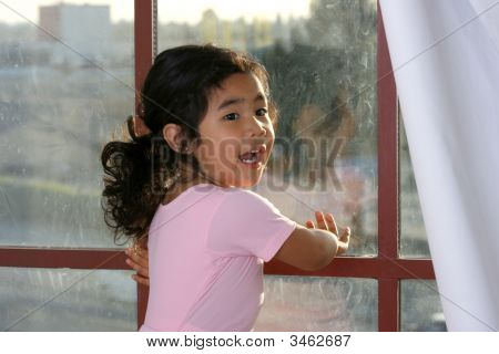Kayla By The Window