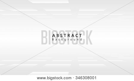 White Perspective Cyberspace Abstract Technology Background,minimalist Business Vector Background,te