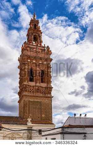 Bell Tower Of Saint Michael, San Miguel In Jerez De Los Caballeros, Province Of Badajoz, Extremadura