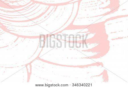 Grunge Texture. Distress Pink Rough Trace. Fair Background. Noise Dirty Grunge Texture. Dazzling Art