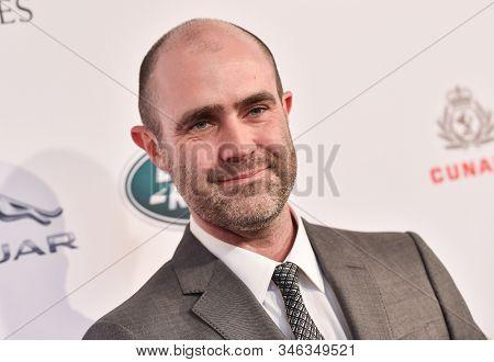 LOS ANGELES - JAN 04:  Matthew Wiseman arrives for the  BAFTA Los Angeles Tea Party 2020 on January 04, 2020 in Los Angeles, CA