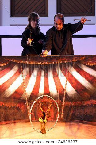Karromato wooden circus at Bahrain, June 29, 2012