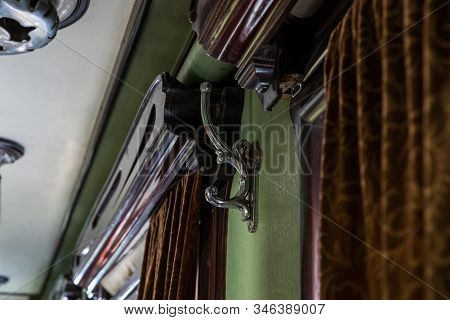 Gori, Georgia, October 13, 2019 : The Interior Of The Personal Armored Train Car Of Stalin In The St