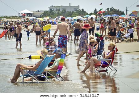 Relaxing Jersey Shore