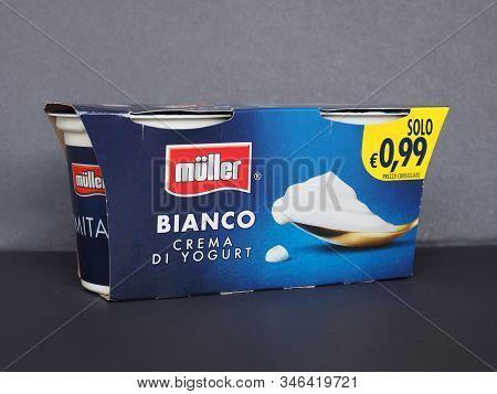 Fischach - Jan 2020: Mueller Plain Yogurt Packet