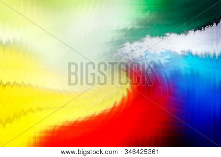 Multicolored abstract background with graphic shapes