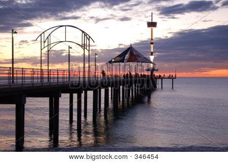 Sunset Over Brighton Jetty