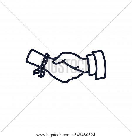 Christian And Catholic Rosary Bracelet Design, Religion Culture Belief Religious Faith God Spiritual