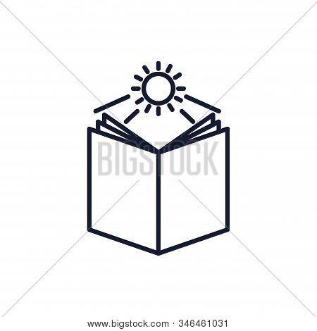 Christian And Catholic Bible And Sun Design, Religion Culture Belief Religious Faith God Spiritual M
