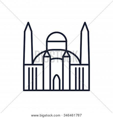 Mosque Church Design, Religion Culture Belief Religious Faith God Spiritual Meditation And Tradition